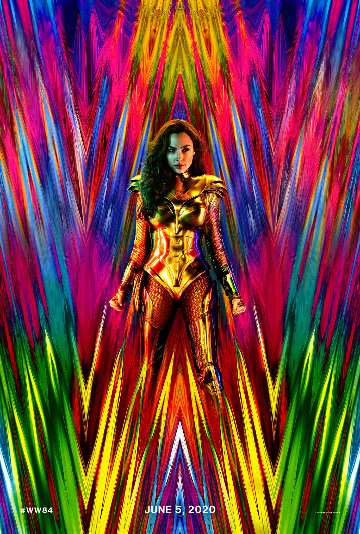 Wonder Woman 1984 poster Gal Gadot