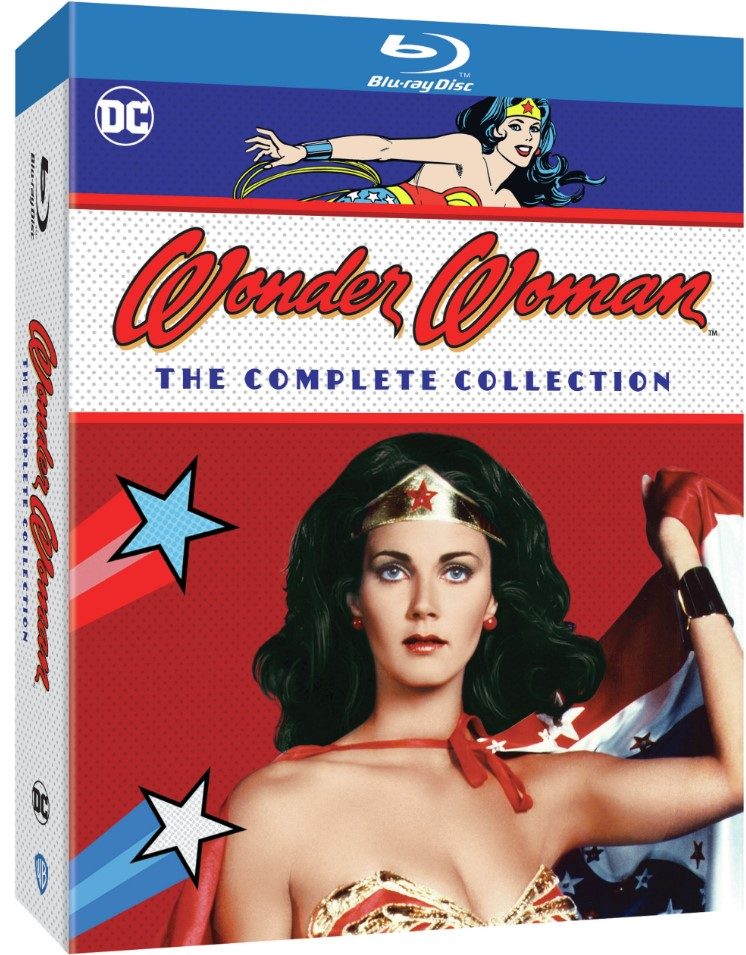Wonder Woman Lynda Carter Blu Ray box art
