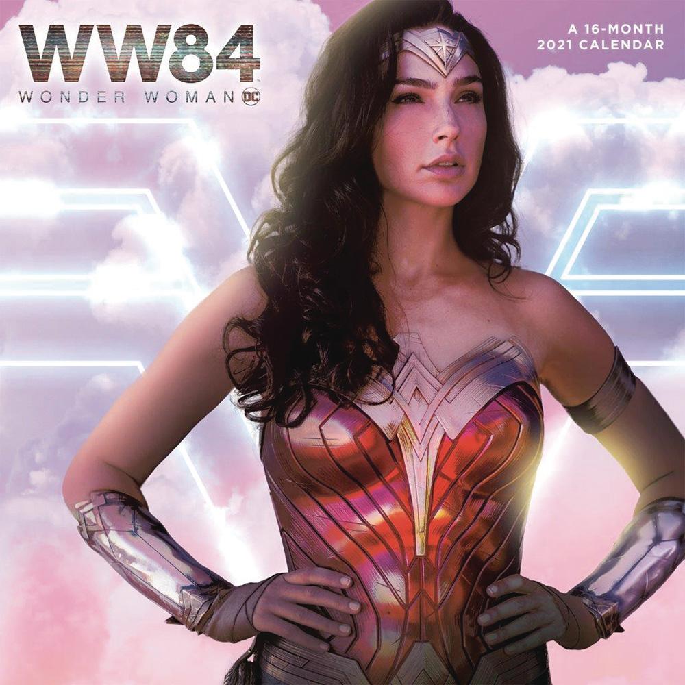 Wonder Woman 1984 calendar