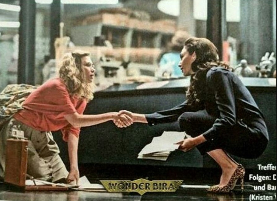 WW84 Kristen Wiig and Gal Gadot