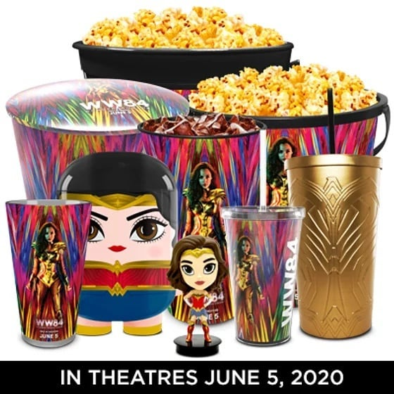 Wonder Woman 1984 theater products