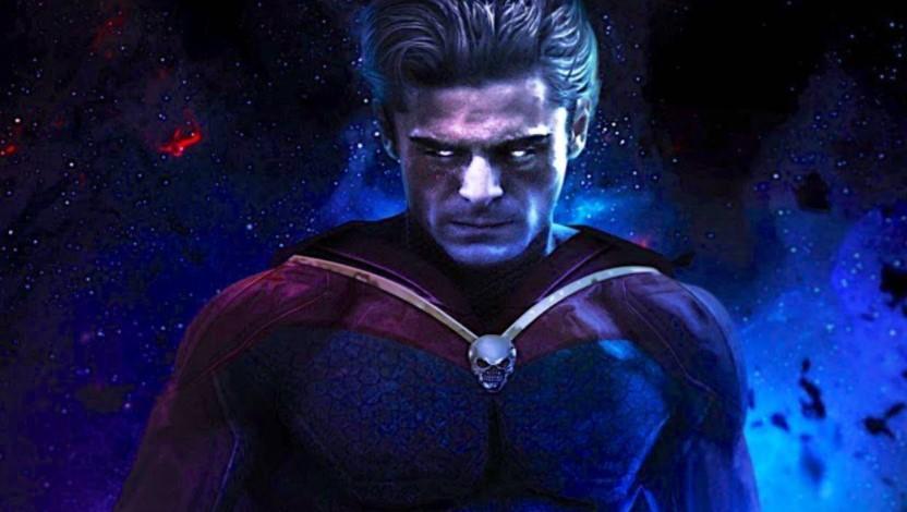 Zac Efron Adam Warlock Guardians of the Galaxy 3 fan art