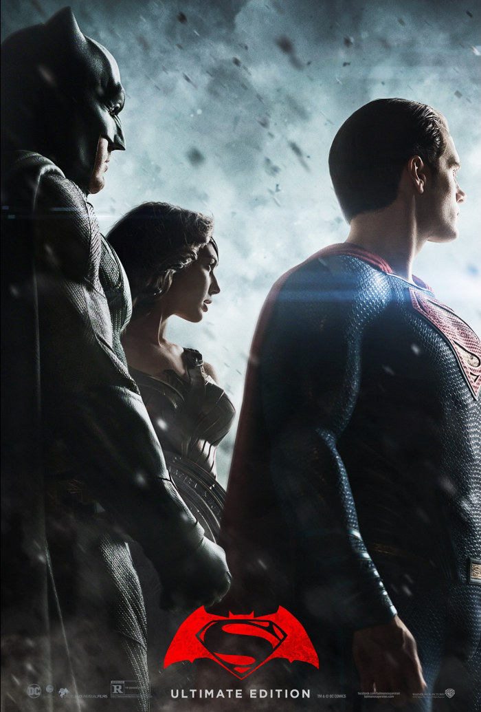 Zack Snyder Batman v Superman Ultimate Edition Poster