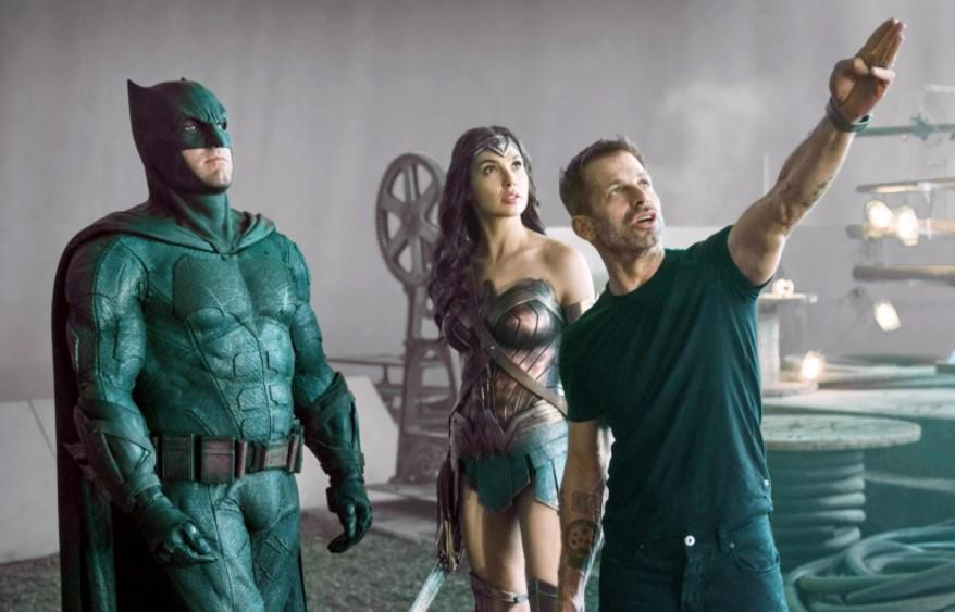 Zack Snyder Gal Gadot Wonder Woman Ben Affleck Batman