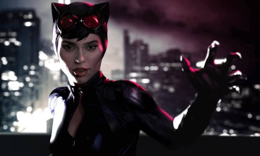 Zoe Kravitz Catwoman fan art