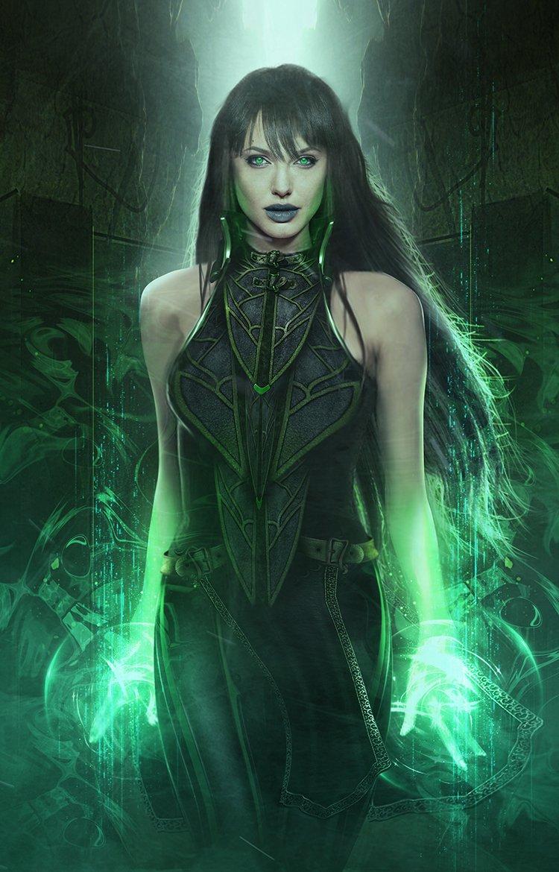 Angelina Jolie Sersi Eternals Fan art