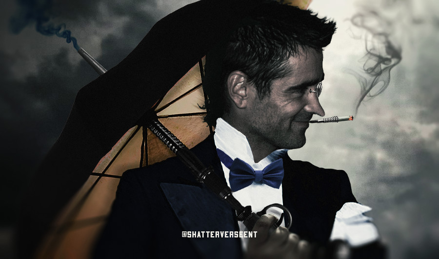 Batman Colin Farrell Penguin fan art