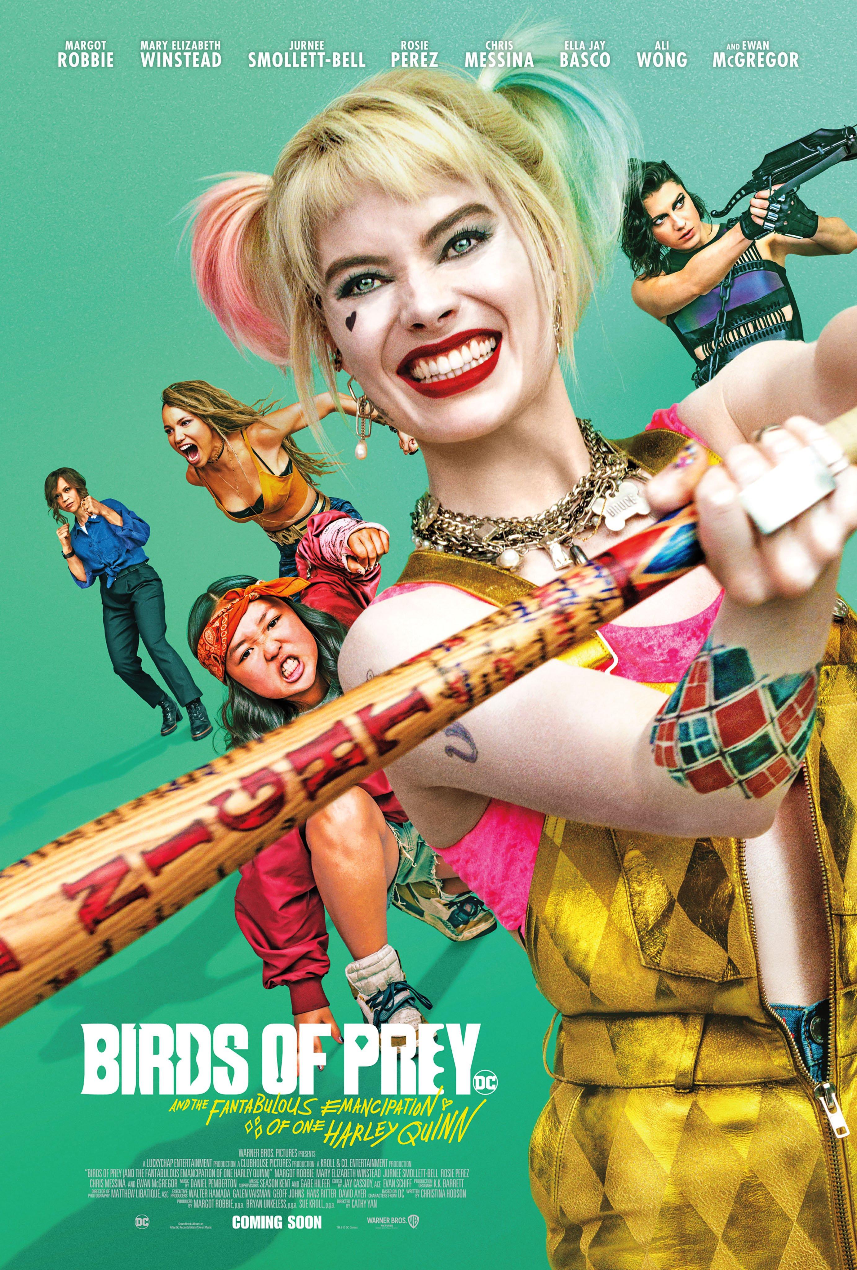 Harley Quinn Birds of Prey poster