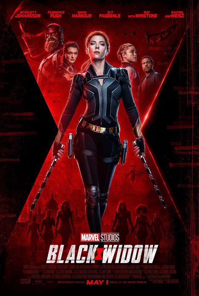 Marvel Black Widow poster