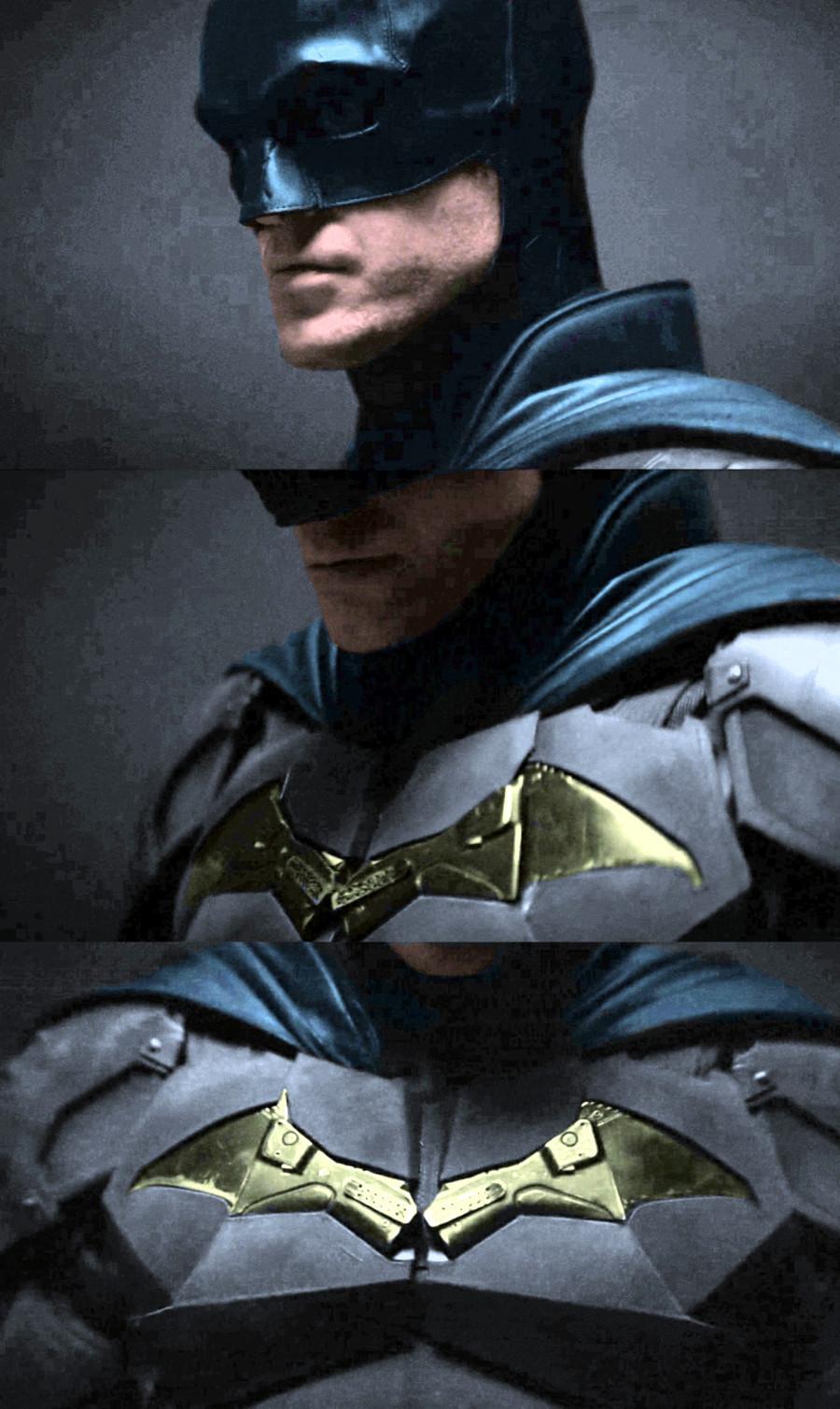 Robert Pattinson Batman blue suit
