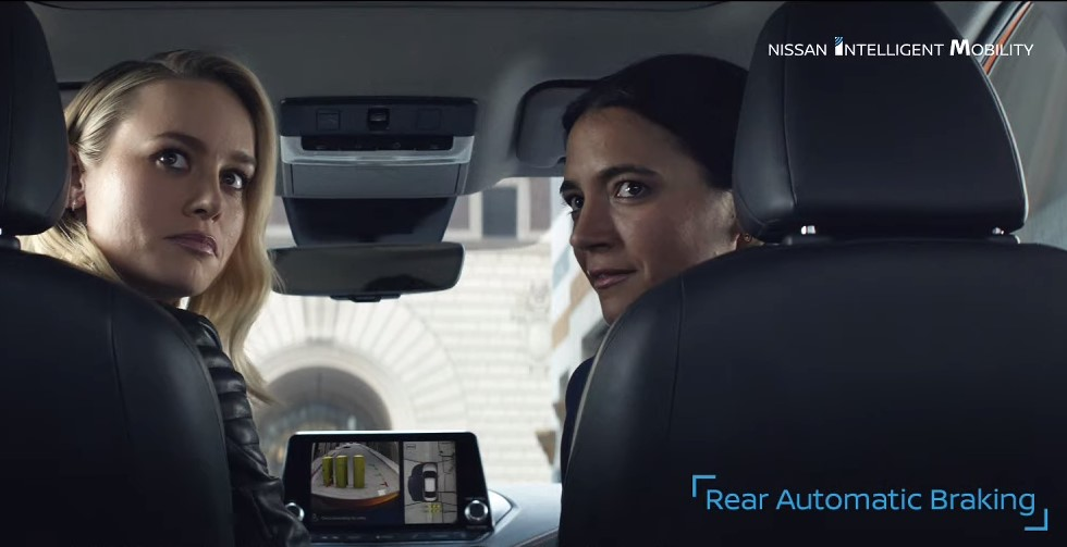 Brie Larson Nissan