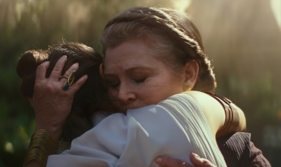 Carrie Fisher Star Wars The Rise of Skywalker