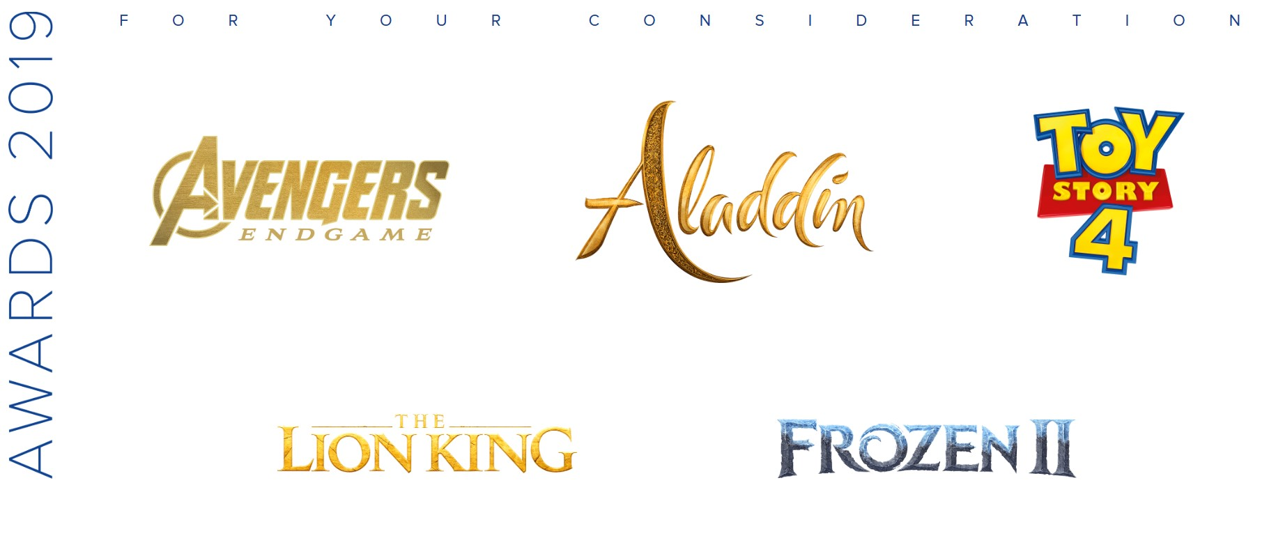Disney Oscars No Brie Larson or Captain Marvel