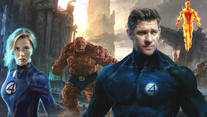 Fantastic Four John Krasinksi Emily Blunt fan art
