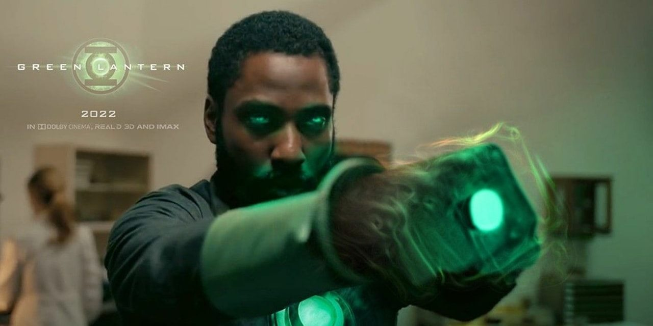 Green Lantern John David Washington