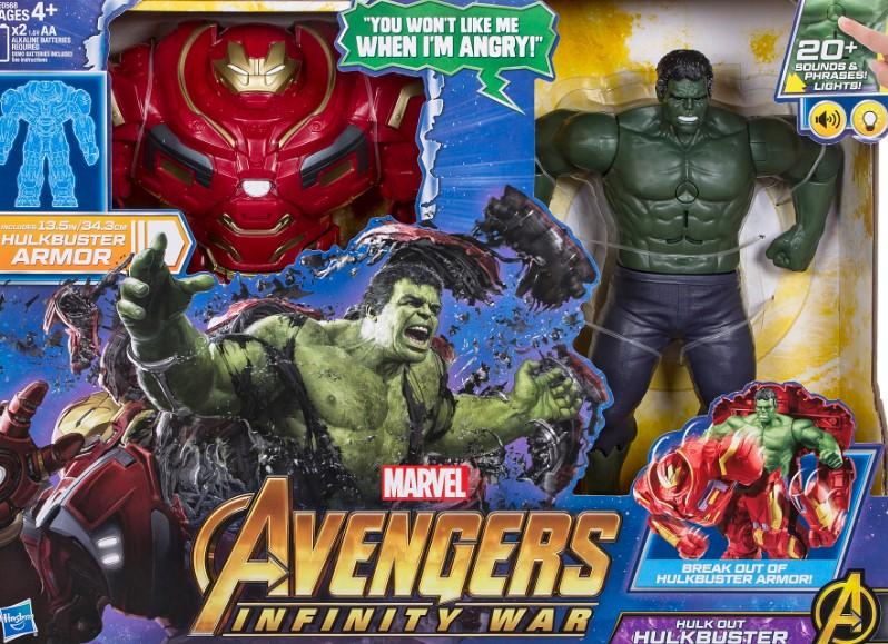 Hulk busts out Hulkbuster Infinity War