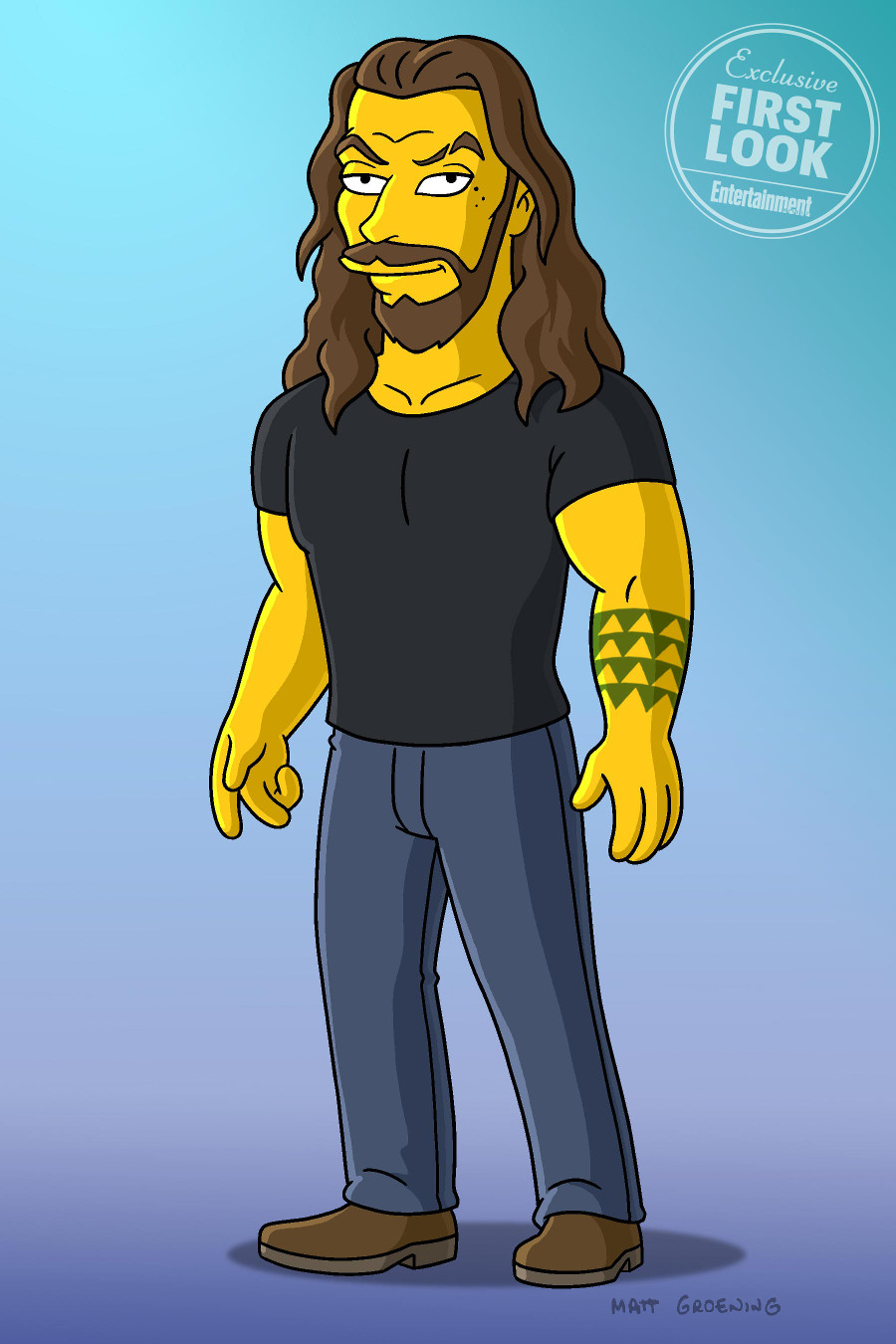 Jason Momoa The Simpsons