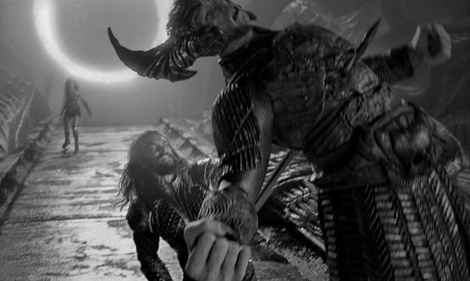 Jason Momoa Aquaman vs Steppenwolf Snyder Cut Justice League