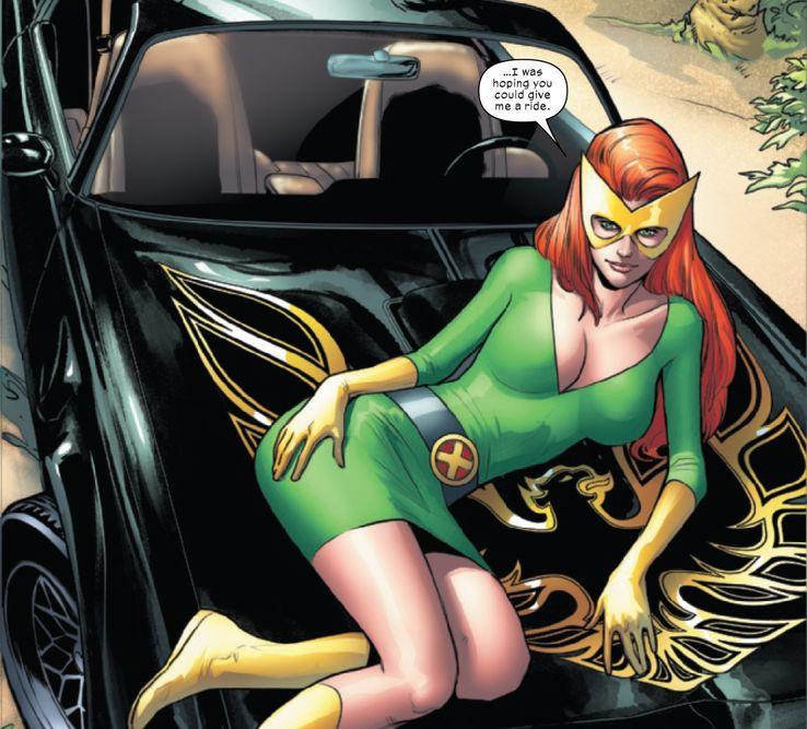 Pyro Jean Grey Marvel X-Men