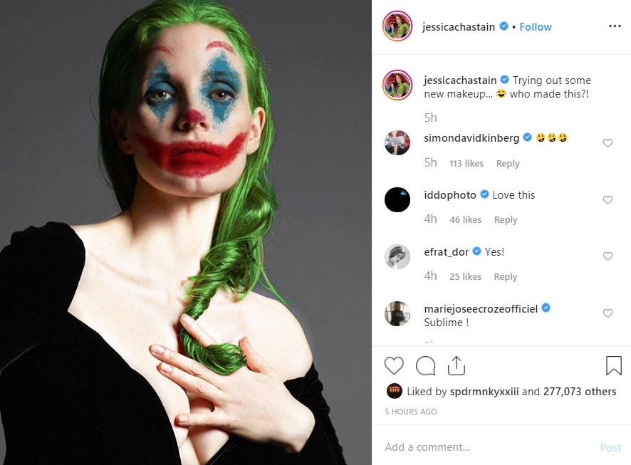 Jessica Chastain Joker