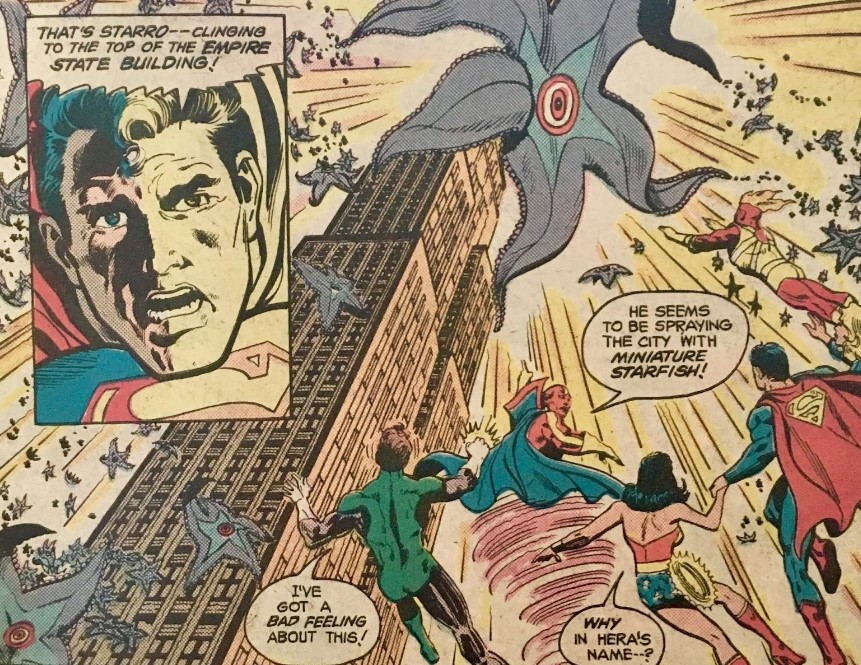 Justice League vs Starro
