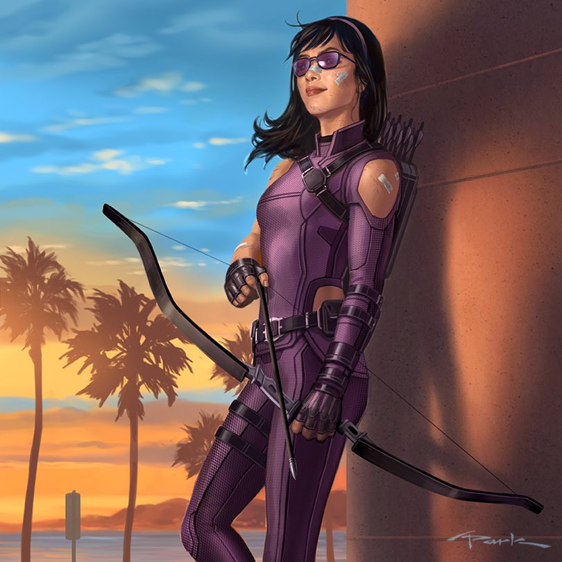 Hawkeye' Concept Art Shows Off Kate Bishop For Disney Plus | Cosmic Book News