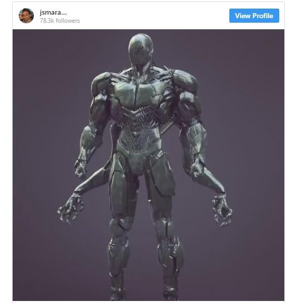 Knightmare Cyborg