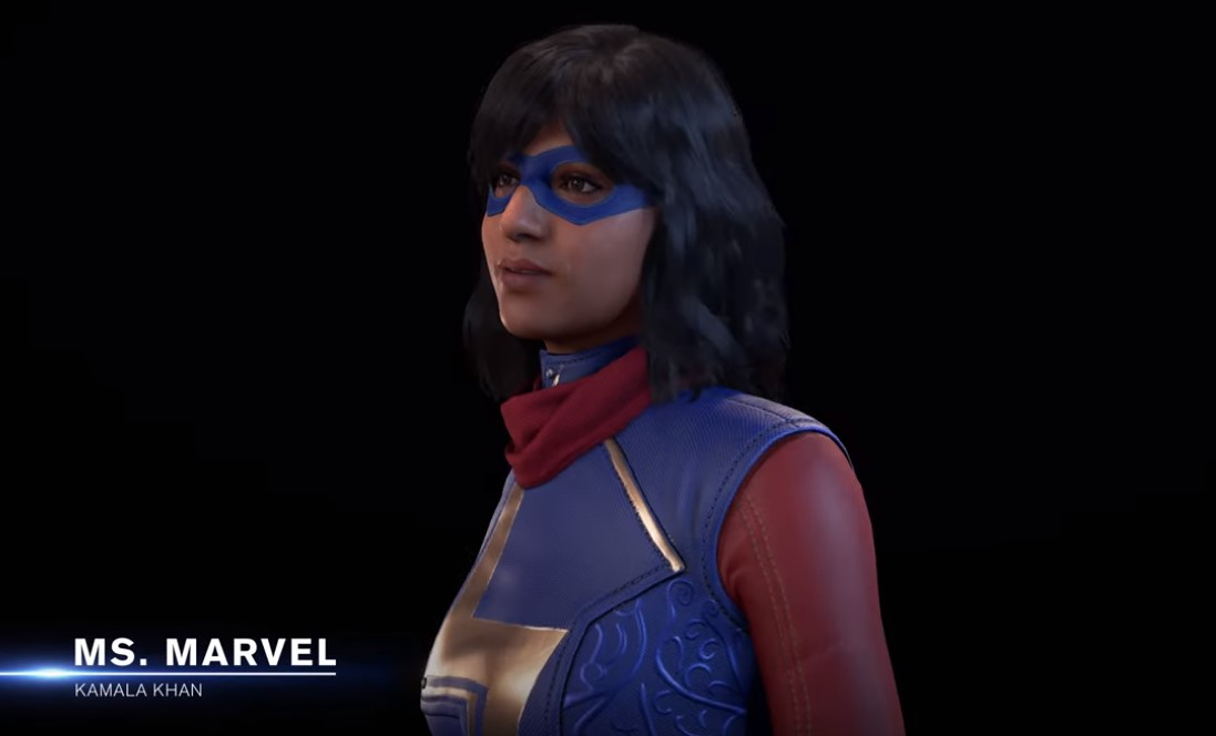 Ms. Marvel Kamala Khan Avengers video game