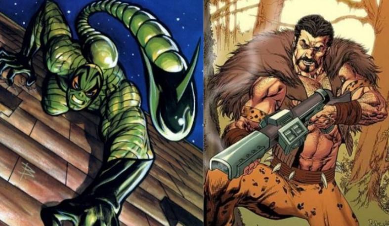 Scorpion Kraven Spider-Man