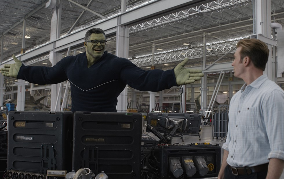 Smart Hulk Avengers Endgame