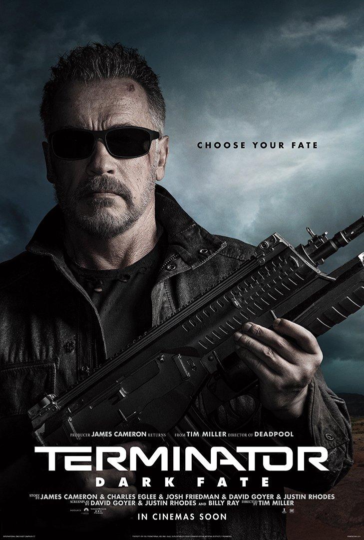Arnold Schwarzenegger T-800 Terminator Dark Fate