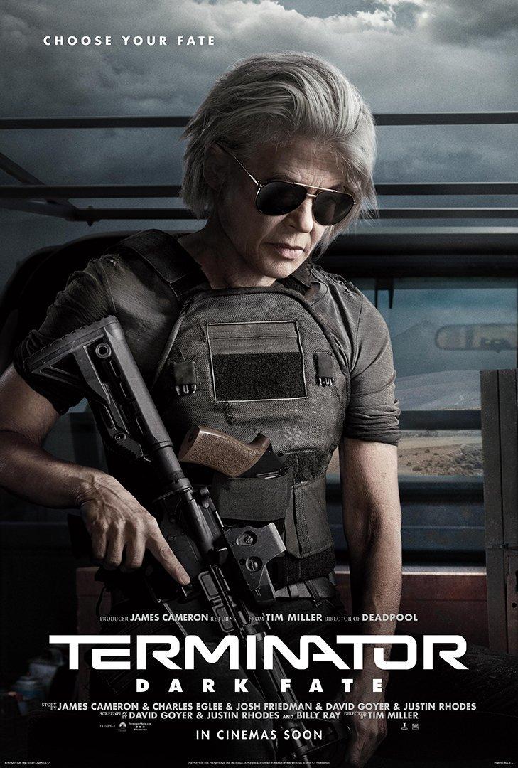 Sarah Connor Linda Hamilton Terminator Dark Fate