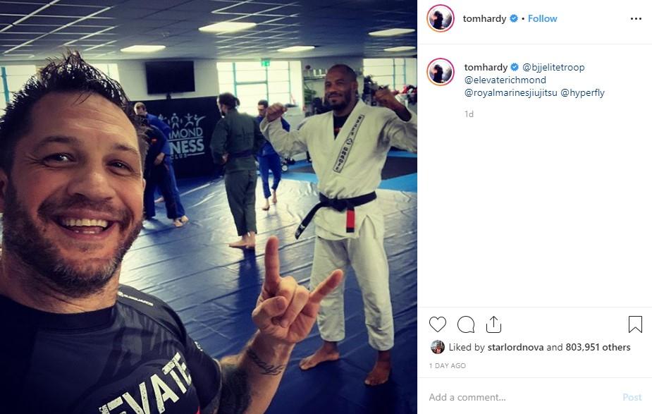 Tom Hardy Jujitsu