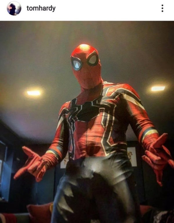 Tom Hardy Spider-Man