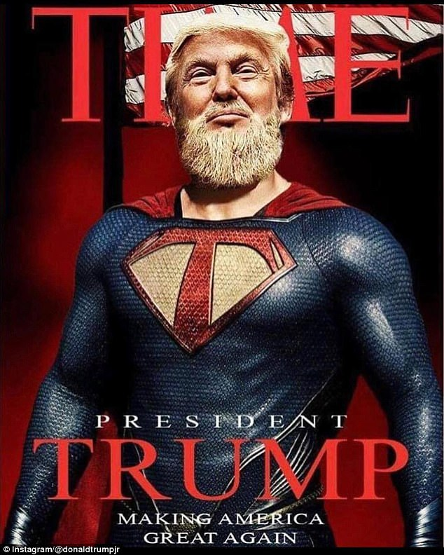 Donald Trump Superman Fan art