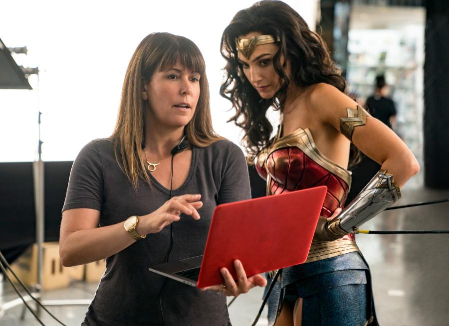 Wonder Woman 1984 Gal Gadot Patty Jenkins behind the scenes