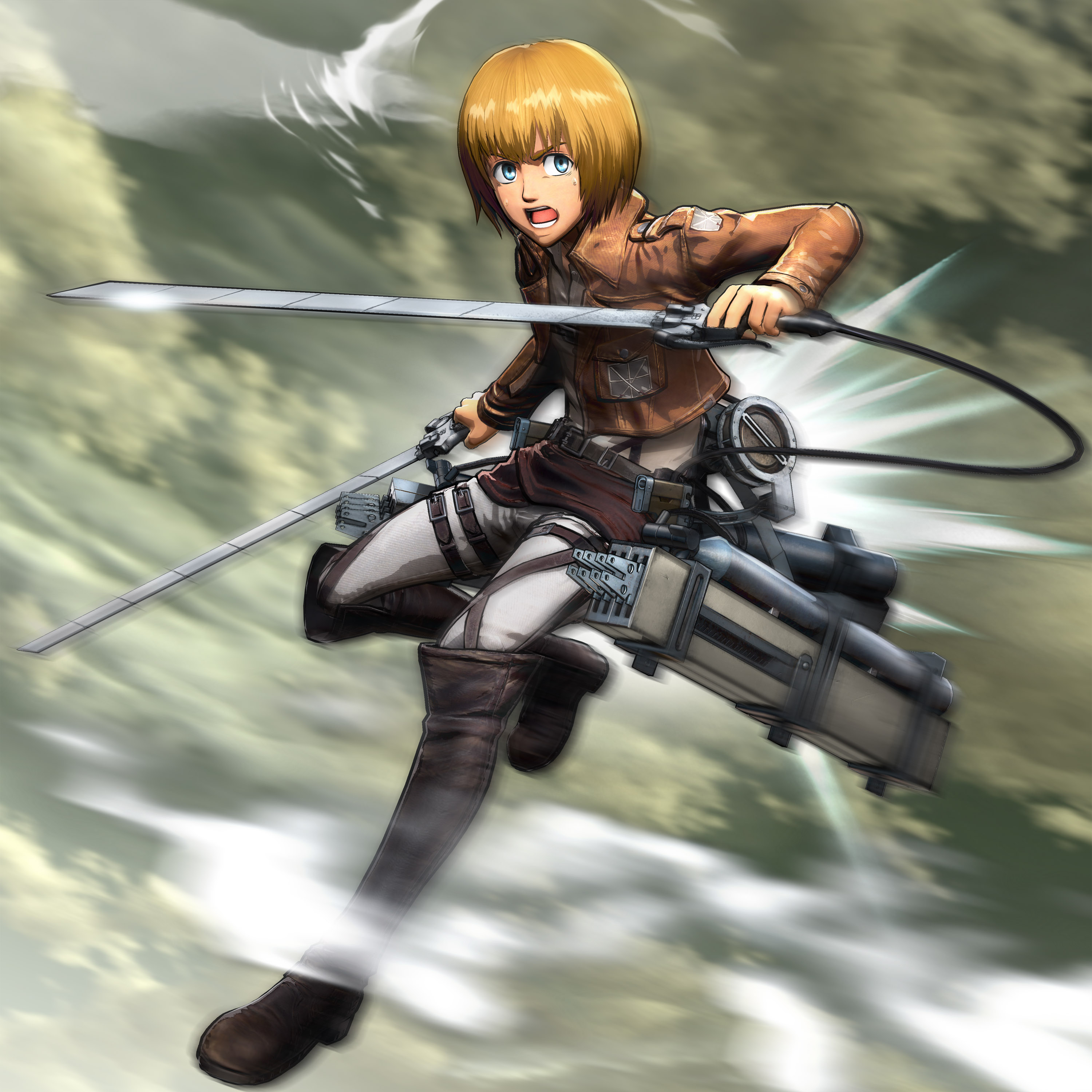 Attack On Titan Video Game Revealed At Tokyo Game Show