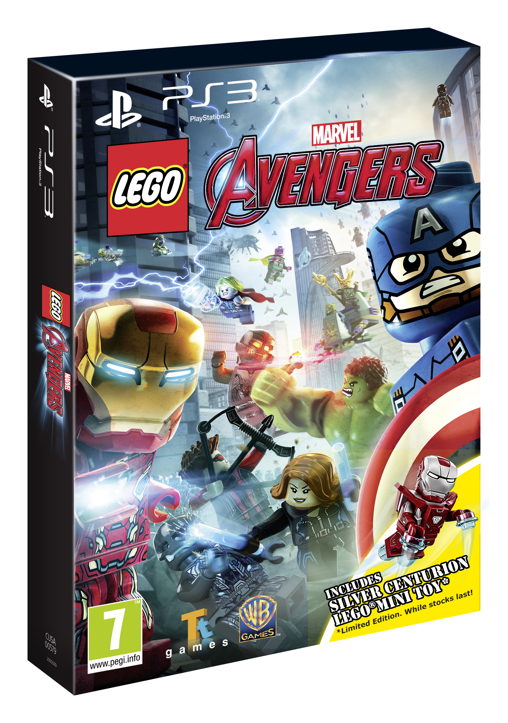 New Lego Games For Ps3 : Lego marvel avengers box art screenshots cosmic book news