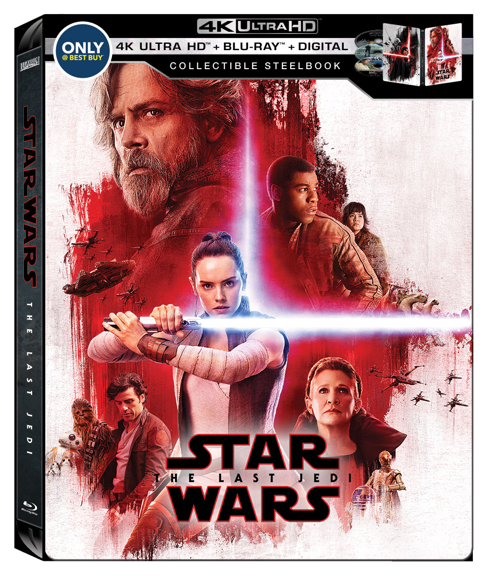 Star Wars: The Last Jedi Blu-Ray