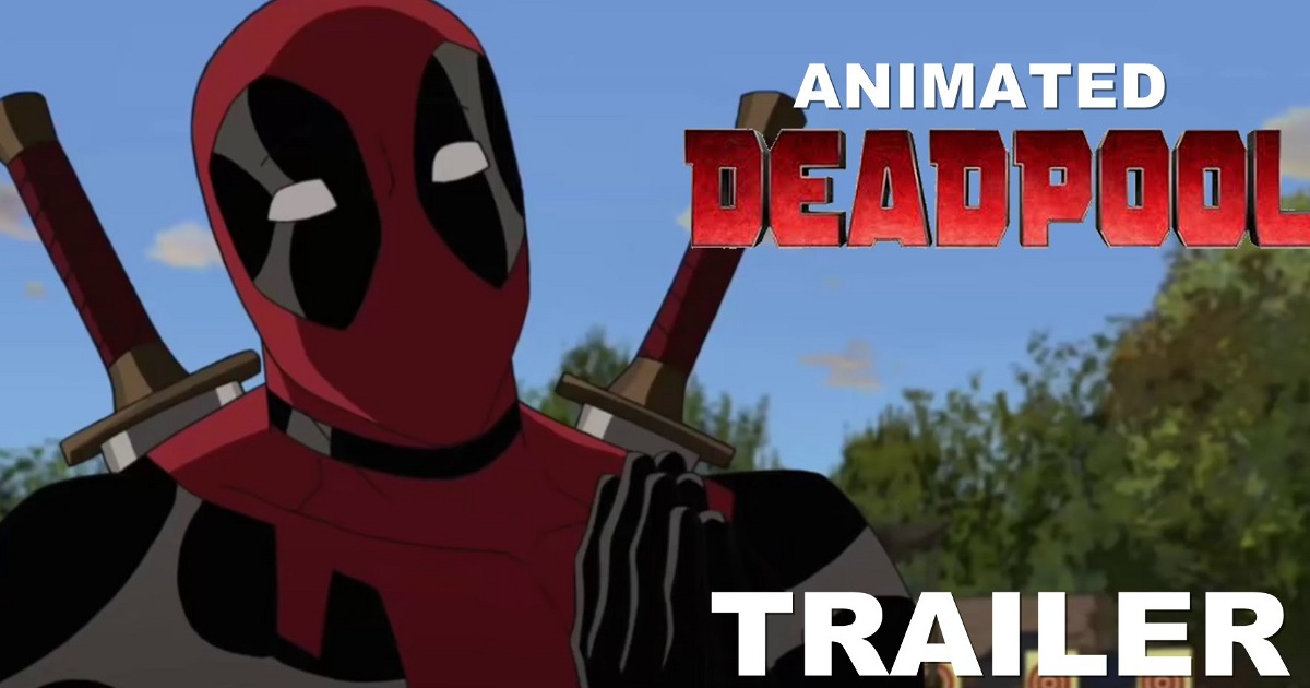 Watch: Animated Deadpool Red-Band Trailer (Fan-Created)