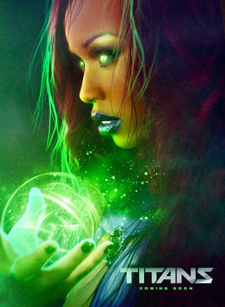 anna diop starfire fan art