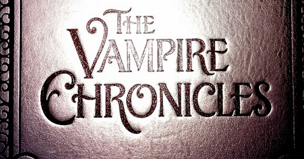Anne Rice Is Working On Vampire Chronicles TV Show