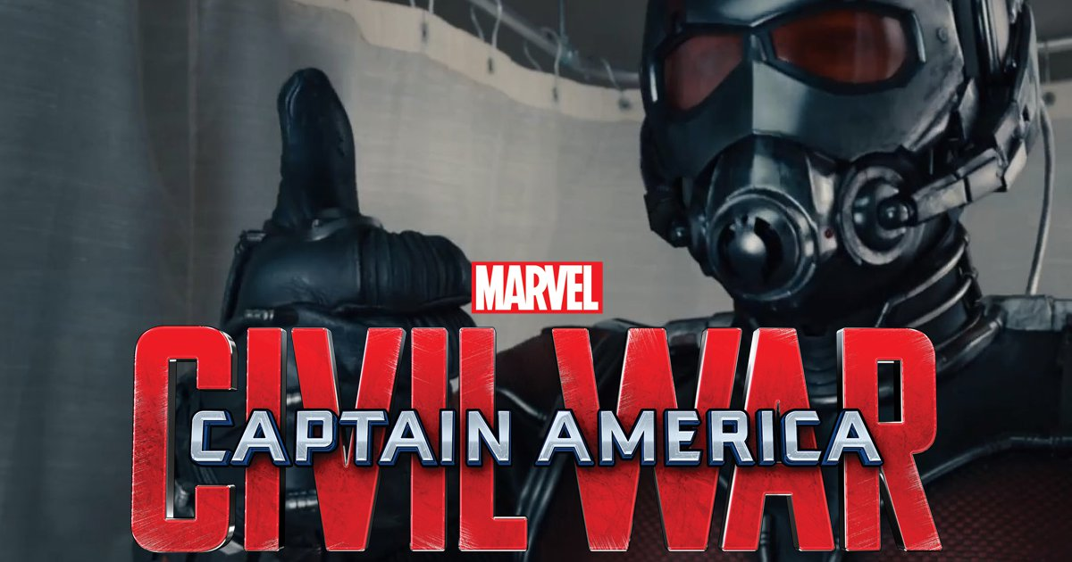 First Look At Ant-Man In Captain America: Civil War