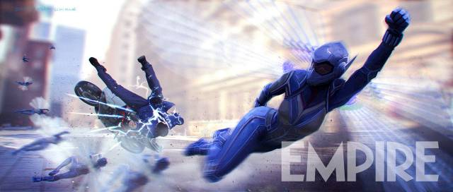 Wasp Smashes Bad Guy In Ant Man 2 Concept Art Cosmic Book News