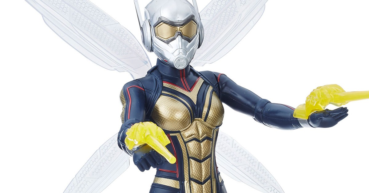 Ant-Man and the Wasp Toys Revealed