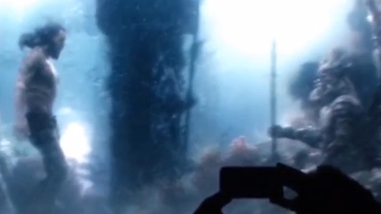 First Look at Aquaman Underwater Footage from Zack Snyder