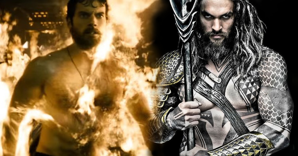 Jason Momoa Flexes His Huge Biceps for the Camera!