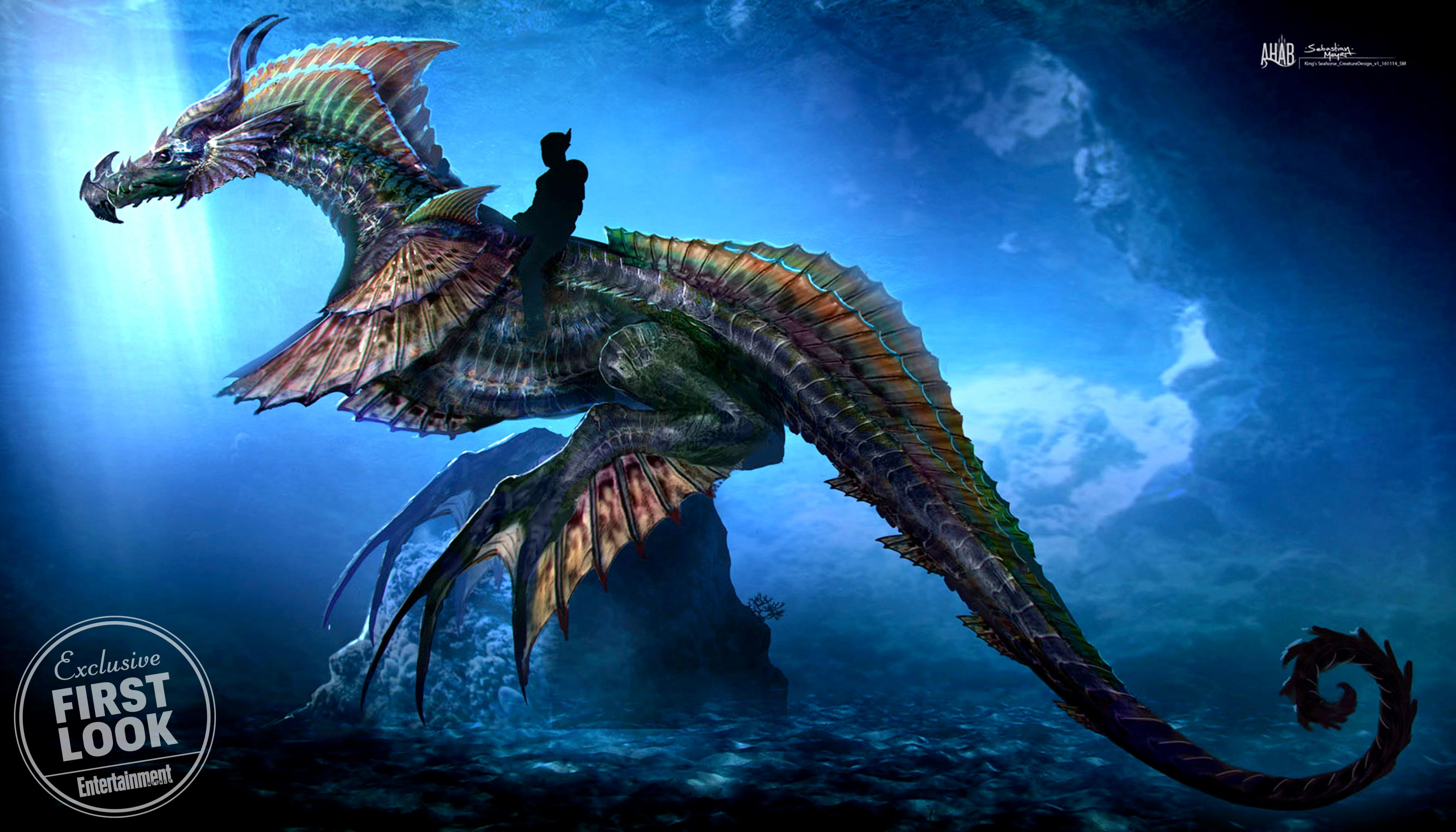 Aquaman Sea Dragon