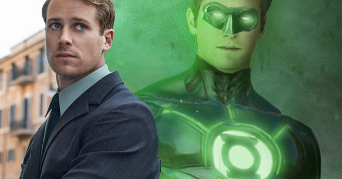 Armie Hammer For Justice League Green Lantern?