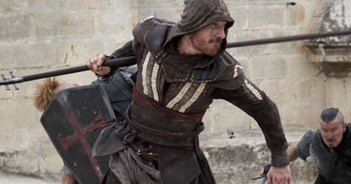 New Michael Fassbender Assassin's Creed Movie Images ... Michael Fassbender News